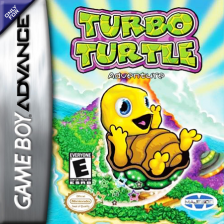 Turbo Turtle Adventure Nintendo Game Boy Advance cover artwork