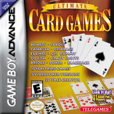 Ultimate Card Games Nintendo Game Boy Advance cover artwork