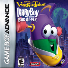 VeggieTales - LarryBoy and the Bad Apple Nintendo Game Boy Advance cover artwork