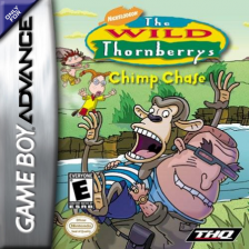 Wild Thornberrys, The - Chimp Chase Nintendo Game Boy Advance cover artwork