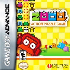 Zooo Nintendo Game Boy Advance cover artwork