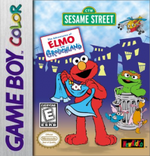 Adventures of Elmo in Grouchland, The Nintendo Game Boy Color cover artwork