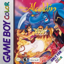 Aladdin Nintendo Game Boy Color cover artwork