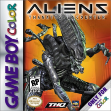 Aliens - Thanatos Encounter Nintendo Game Boy Color cover artwork