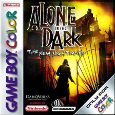 Alone in the Dark - The New Nightmare Nintendo Game Boy Color cover artwork