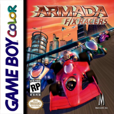 Armada - FX Racers Nintendo Game Boy Color cover artwork