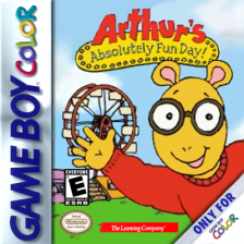 Arthur's Absolutely Fun Day! Nintendo Game Boy Color cover artwork