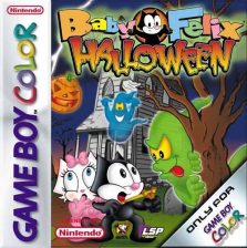 Baby Felix - Halloween Nintendo Game Boy Color cover artwork