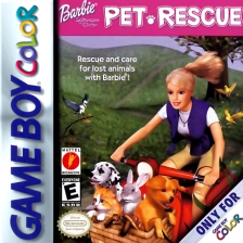 Barbie - Pet Rescue Nintendo Game Boy Color cover artwork