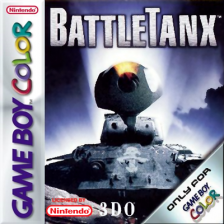BattleTanx Nintendo Game Boy Color cover artwork