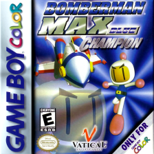Bomberman Max - Blue Champion Nintendo Game Boy Color cover artwork