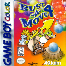 Bust-A-Move 4 Nintendo Game Boy Color cover artwork