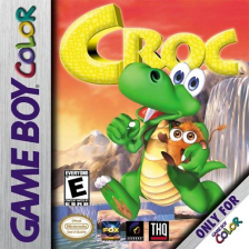 Croc Nintendo Game Boy Color cover artwork