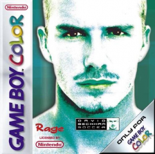 David Beckham Soccer Nintendo Game Boy Color cover artwork