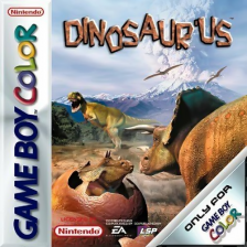 Dinosaur'us Nintendo Game Boy Color cover artwork