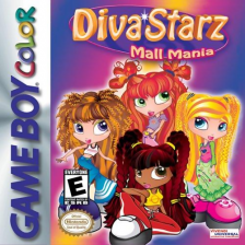 Diva Starz - Mall Mania Nintendo Game Boy Color cover artwork
