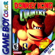 Donkey Kong Country Nintendo Game Boy Color cover artwork
