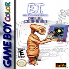 E.T. The Extra Terrestrial - Digital Companion Nintendo Game Boy Color cover artwork