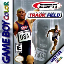 ESPN International Track & Field Nintendo Game Boy Color cover artwork