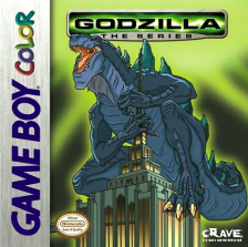 Godzilla - The Series Nintendo Game Boy Color cover artwork