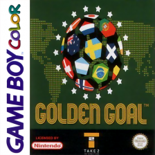 Golden Goal Nintendo Game Boy Color cover artwork