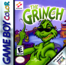 Grinch, The Nintendo Game Boy Color cover artwork