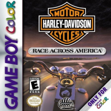 Harley-Davidson Motor Cycles - Race Across America Nintendo Game Boy Color cover artwork