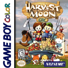 Harvest Moon GB Nintendo Game Boy Color cover artwork