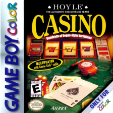 Hoyle Casino Nintendo Game Boy Color cover artwork