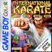 International Karate 2000 Nintendo Game Boy Color cover artwork