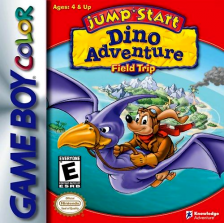 JumpStart Dino Adventure - Field Trip Nintendo Game Boy Color cover artwork