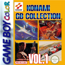 Konami GB Collection Vol.1 Nintendo Game Boy Color cover artwork