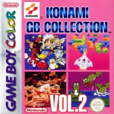 Konami GB Collection Vol.2 Nintendo Game Boy Color cover artwork