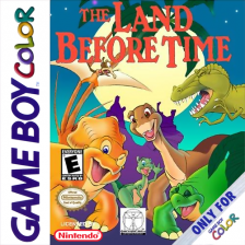 Land Before Time, The Nintendo Game Boy Color cover artwork
