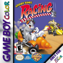 Looney Tunes Racing Nintendo Game Boy Color cover artwork
