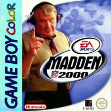 Madden NFL 2000 Nintendo Game Boy Color cover artwork