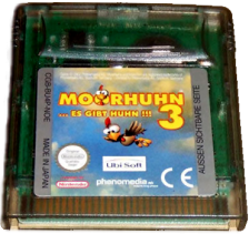 Moorhen 3 - The Chicken Chase! Nintendo Game Boy Color cover artwork