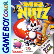 Mr Nutz Nintendo Game Boy Color cover artwork