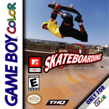 MTV Sports - Skateboarding featuring Andy MacDonald Nintendo Game Boy Color cover artwork