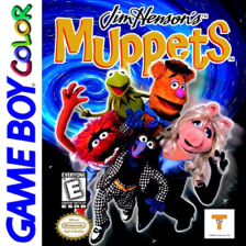 Muppets, The Nintendo Game Boy Color cover artwork