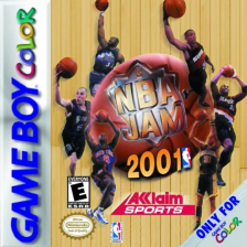 NBA Jam 2001 Nintendo Game Boy Color cover artwork