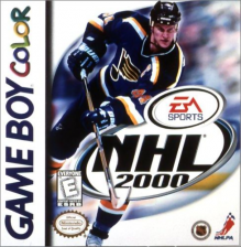 NHL 2000 Nintendo Game Boy Color cover artwork
