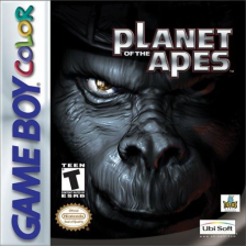 Planet of the Apes Nintendo Game Boy Color cover artwork