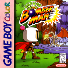 Pocket Bomberman Nintendo Game Boy Color cover artwork