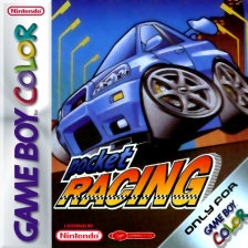 Pocket Racing Nintendo Game Boy Color cover artwork