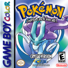 Pokemon - Crystal Version Nintendo Game Boy Color cover artwork