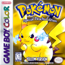 Pokemon - Yellow Version Nintendo Game Boy Color cover artwork