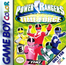 Power Rangers - Time Force Nintendo Game Boy Color cover artwork