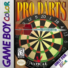 Pro Darts Nintendo Game Boy Color cover artwork