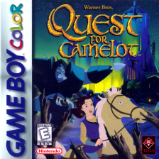 Quest for Camelot Nintendo Game Boy Color cover artwork
